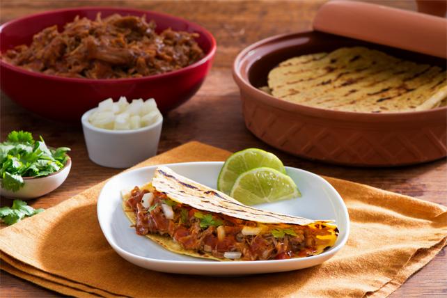 Tacos au porc barbecue Image 1