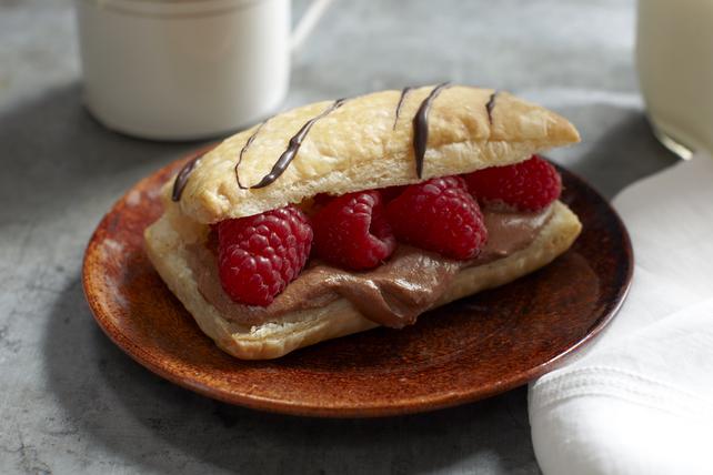 Millefeuilles au chocolat et à la framboise Image 1