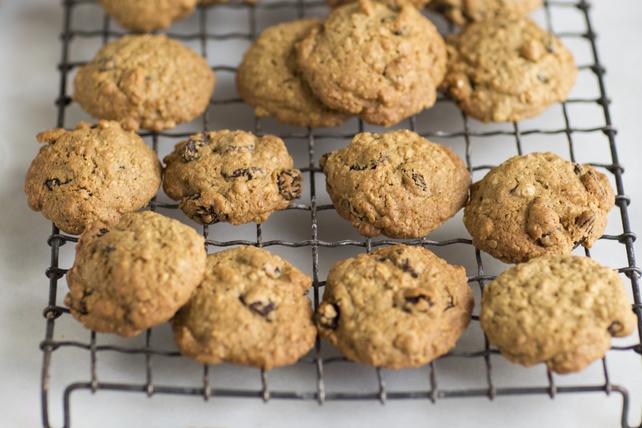 Biscuits à l'avoine, au beurre d'arachide et aux brisures de chocolat Image 1