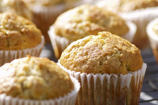 Muffins aux bananes, au beurre d'arachide et au PHILADELPHIA  Image 1