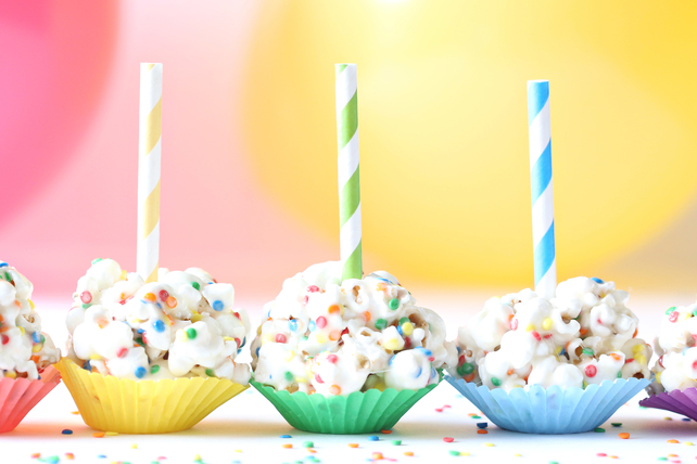 Mini Popcorn Ball Pops Image 1