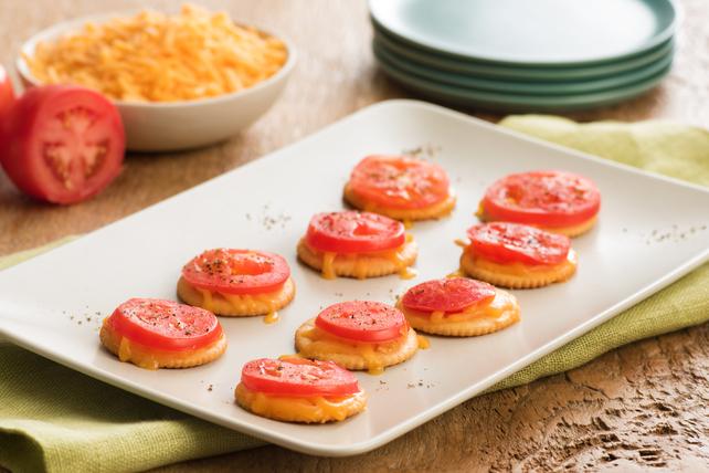 Craquelins à la tomate et au fromage fondant Image 1