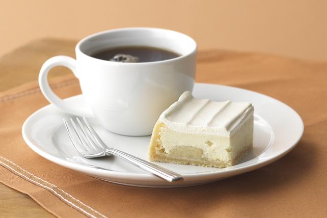 Gâteau au fromage aux bananes et à la crème  Image 1