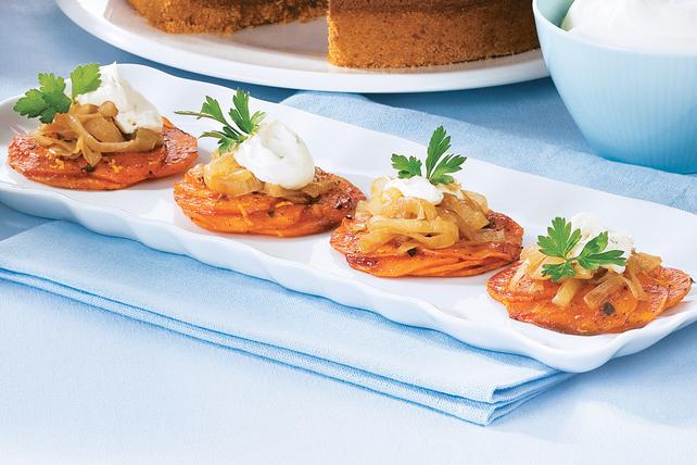 Galettes de patates douces Image 1