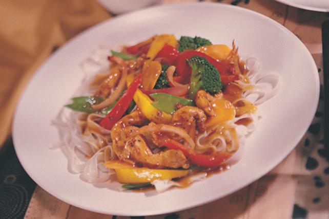 Sauté de poulet et de légumes Image 1