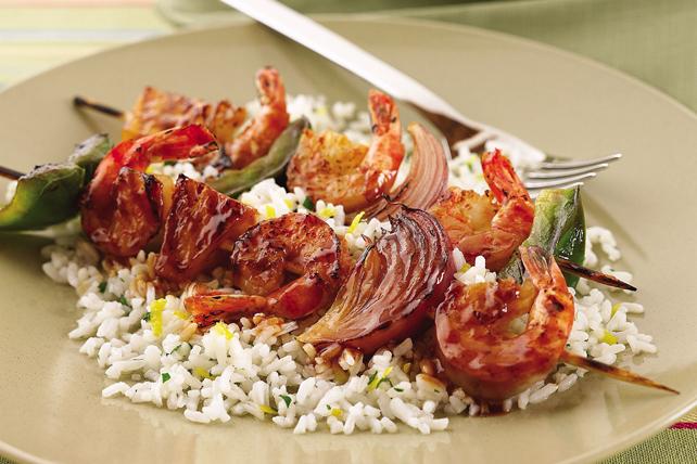 Brochettes éclair aux crevettes Image 1