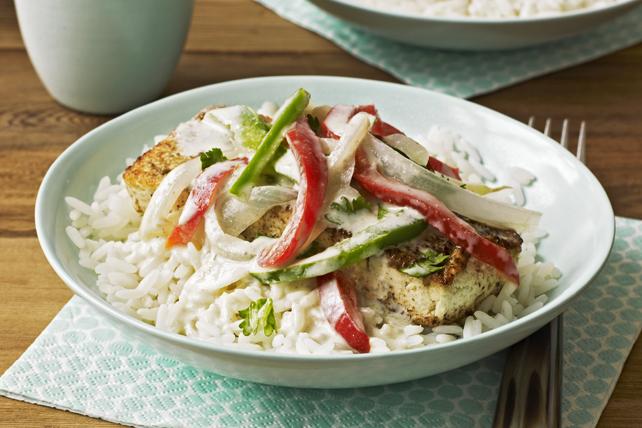 Tofu au cari vert Image 1
