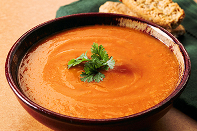Spiced Carrot Soup Image 1