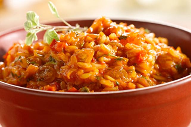 Saffron-Tomato Rice Pilaf Image 1