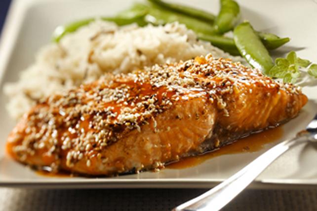 Sesame-Encrusted Salmon Image 1