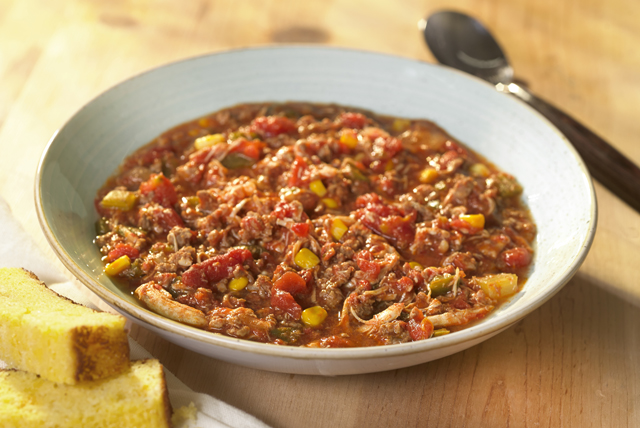 Brunswick Stew with Cheddar Cornbread