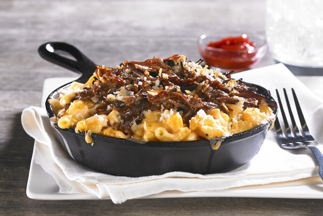 BBQ Brisket Mac & Cheese