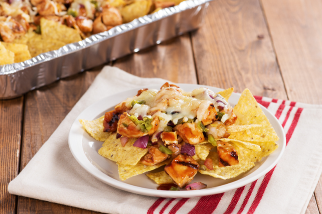 Grilled BBQ Chicken Nachos Image 1