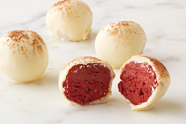 Red Velvet Cheesecake Truffles Image 1