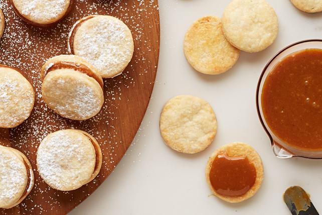 Galletas de alfajor de caramelo Image 1