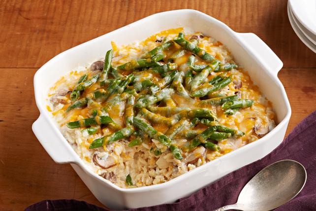 Cazuela de arroz y ejotes (habichuelas verdes) Image 1