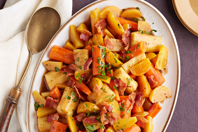 Slow-Cooker Roasted Root Vegetables