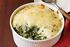 Creamed Spinach Alfredo Casserole