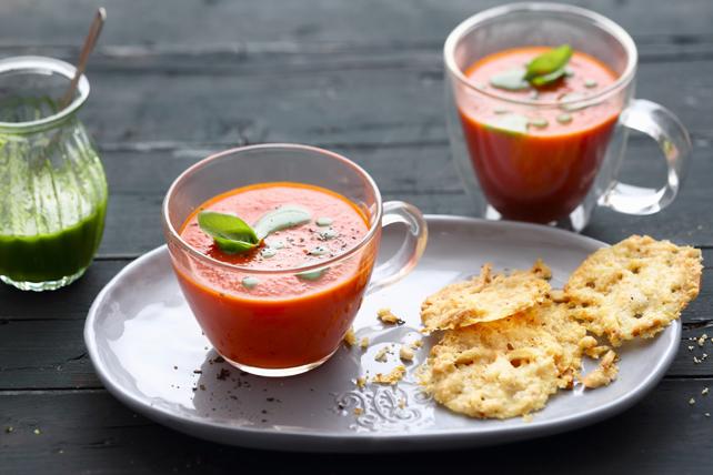 Soupe aux tomates et au Parmesan Image 1