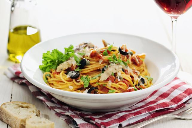 Spaghetti Puttanesca Image 1