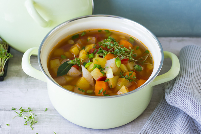 Soupe minestrone végétarienne Image 1