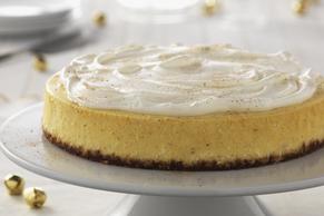 Cheesecake de rompope clásico