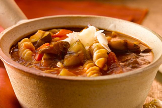 Soupe à la ratatouille de légumes grillés Image 1