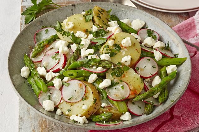 Salade de pommes de terre et d'asperges Image 1