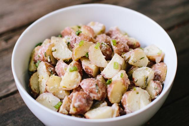 Salade de pommes de terre nouvelles piquante  Image 1