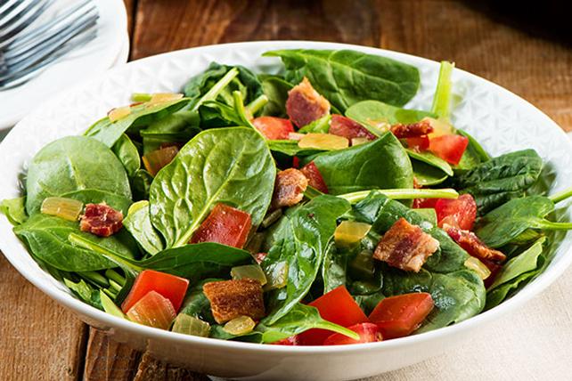 Salade jardinière et sa vinaigrette chaude au bacon Image 1