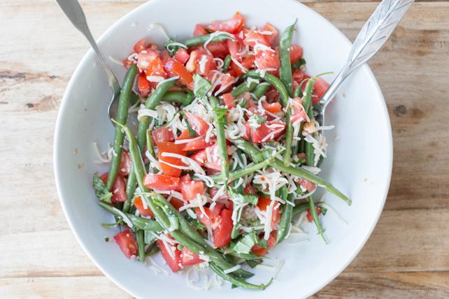 Salade de haricots verts au mozzarella Image 1