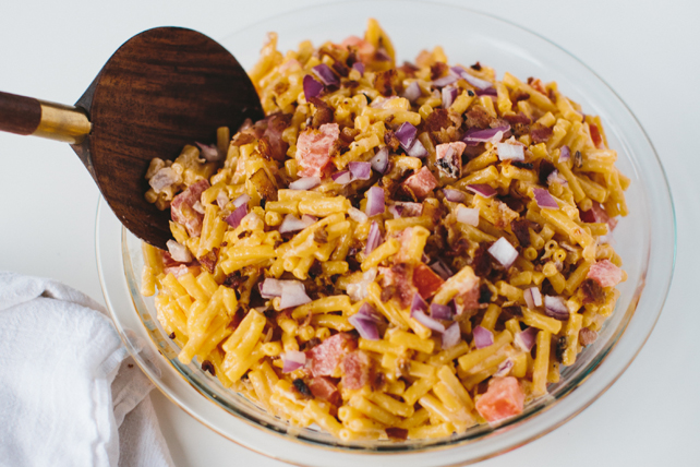Spicy Macaroni Salad Image 1