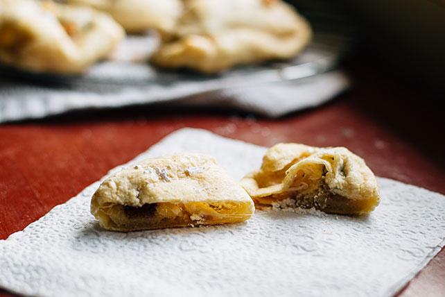 Feuilletés choco-guimauve en pâte de croissant Image 1