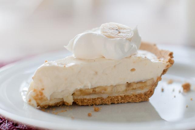 Tarte à la crème à la banane et au chocolat blanc Image 1