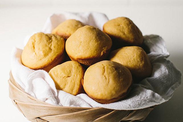 Orangey Muffins Image 1