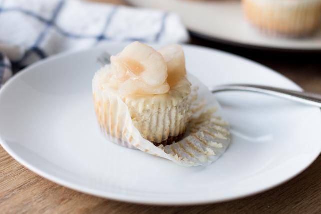 Mini-gâteaux au fromage façon tarte aux pommes Image 1