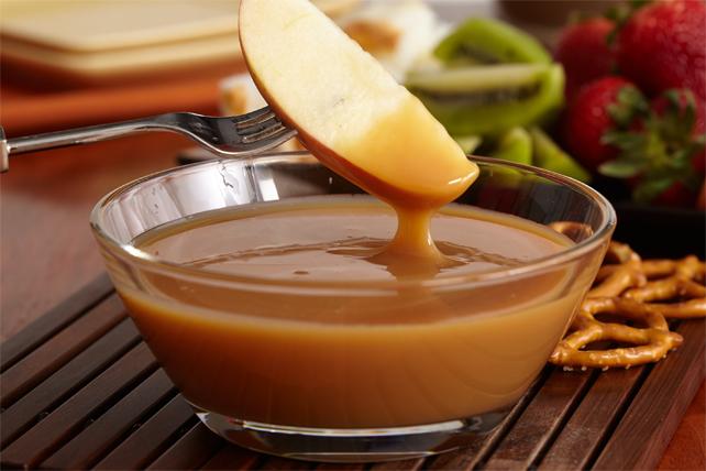 Succulente trempette crémeuse au caramel Image 1
