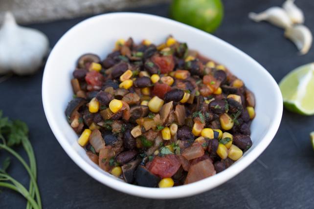 Salsa aux haricots noirs et aux olives Image 1