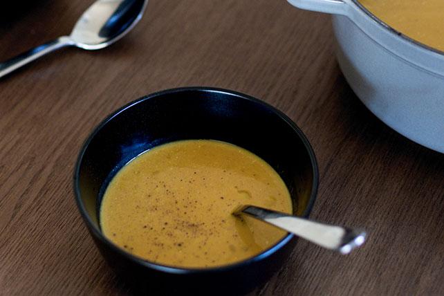 Soupe crémeuse à la citrouille et au cari Image 1