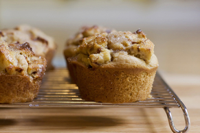 French Toast Muffins with Pumpkin