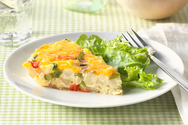 Creamy Veggie Frittata Image 1