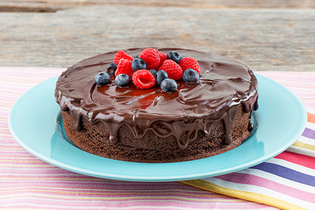 Dark Chocolate Cake Image 1
