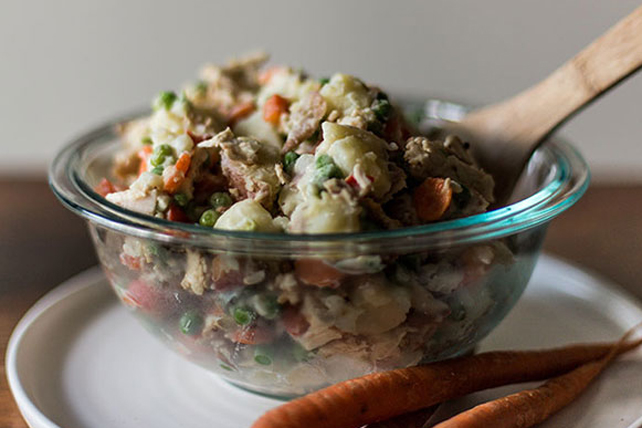 Homestyle Chicken-Potato Salad Image 1