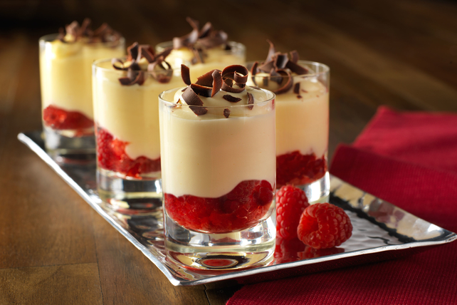 No Bake Raspberry Cheesecake Cups Image 1