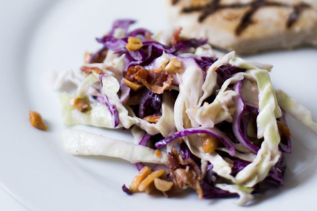 15-Minute Crunchy Bacon Coleslaw Image 1
