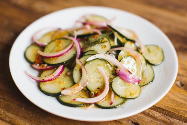 Salade de concombre simplissime Image 1