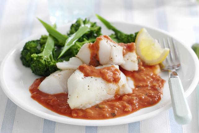 Plat de poisson aux tomates Image 1