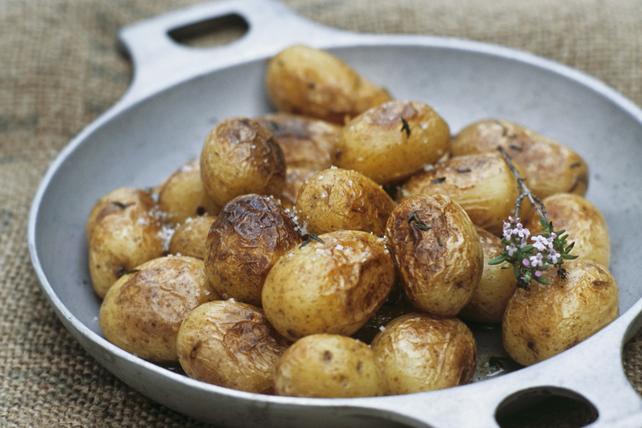 Pommes de terre rôties au Parmesan et au thym Image 1