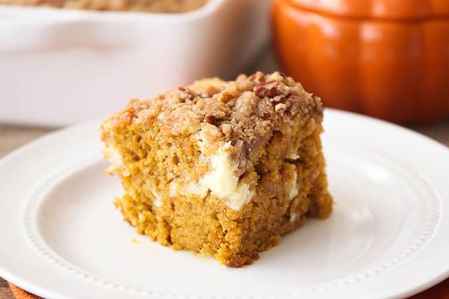 recipe: pumpkin cream cheese coffee cake [1]