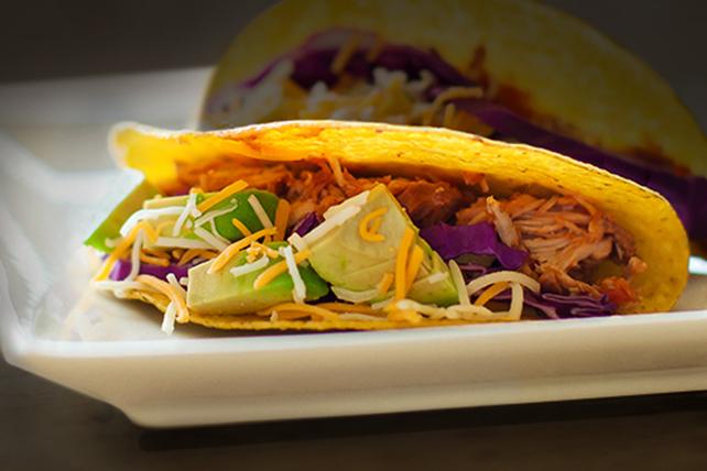 Tacos au porc effiloché à la mijoteuse Image 1